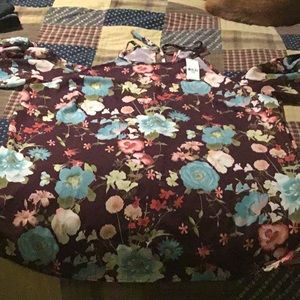Sweet Pea from New York Co cold shoulder top